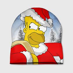 Шапка Санта Гомер цвета 3D-принт — фото 1