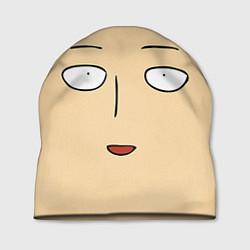 Шапка Saitama Face цвета 3D-принт — фото 1