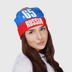 Шапка Russia: from 65 цвета 3D-принт — фото 2