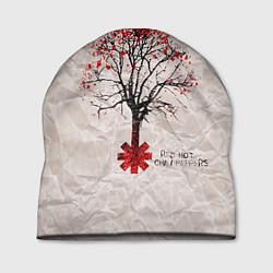 Шапка RHCP: Red Tree цвета 3D — фото 1