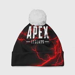 Шапка с помпоном APEX LEGENDS цвета 3D-белый — фото 1