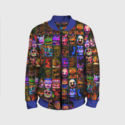 Бомбер детский Five Nights At Freddy's цвета 3D-синий — фото 1