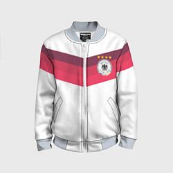 Бомбер детский Сборная Германии по футболу цвета 3D-серый — фото 1