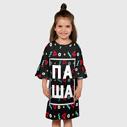 Платье клеш для девочки Паша цвета 3D — фото 2