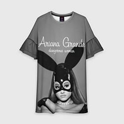 Платье клеш для девочки Ariana Grande: Rabbit цвета 3D-принт — фото 1