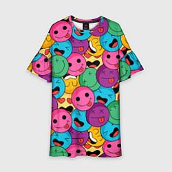 Платье клеш для девочки Pattern цвета 3D — фото 1