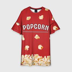 Платье клеш для девочки Popcorn цвета 3D — фото 1