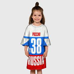 Платье клеш для девочки Russia: from 38 цвета 3D — фото 2