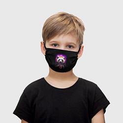 Маска для лица детская Panda Cosmonaut цвета 3D — фото 1