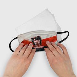 Маска для лица детская Молодой Цой цвета 3D — фото 2