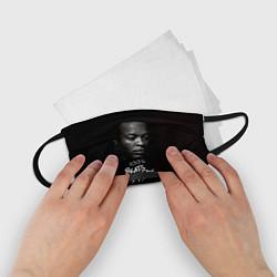 Маска для лица детская Dr. Dre: 100% Beats цвета 3D-принт — фото 2