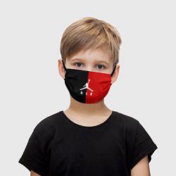 Маска для лица детская MICHAEL JORDAN цвета 3D — фото 1