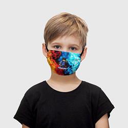 Маска для лица детская Minecraft Майнкрафт цвета 3D — фото 1