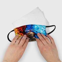 Маска для лица детская STANDOFF 2 цвета 3D — фото 2