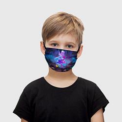 Детская маска для лица Сквик Squeak Brawl Stars