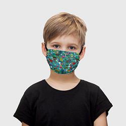Детская маска для лица Стикербомбинг