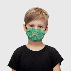 Детская маска для лица Узор из листьев