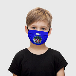 Маска для лица детская Kiss Show цвета 3D — фото 1