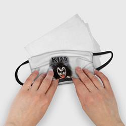 Маска для лица детская KISS: Adult demon wig цвета 3D — фото 2