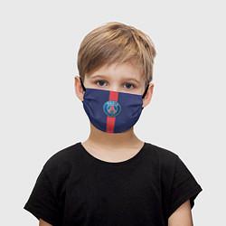Маска для лица детская Paris Saint-German цвета 3D-принт — фото 1
