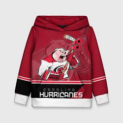 Толстовка-худи детская Carolina Hurricanes цвета 3D-белый — фото 1
