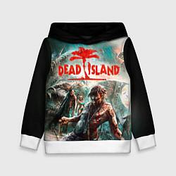 Толстовка-худи детская Dead Island цвета 3D-белый — фото 1