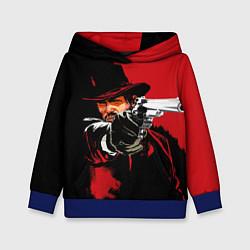 Толстовка-худи детская Red Dead Redemption цвета 3D-синий — фото 1