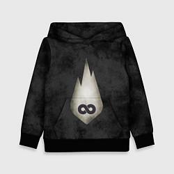Толстовка-худи детская Thousand Foot Krutch цвета 3D-черный — фото 1
