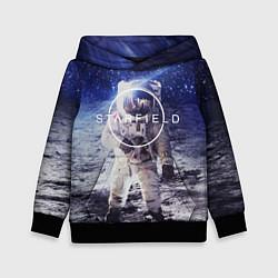 Толстовка-худи детская Starfield: Astronaut цвета 3D-черный — фото 1
