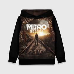 Толстовка-худи детская Metro Exodus: Sunset цвета 3D-черный — фото 1