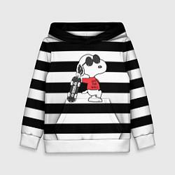 Толстовка-худи детская Vans Doggy цвета 3D-белый — фото 1