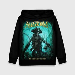 Толстовка-худи детская Alestorm: Death Pirate цвета 3D-черный — фото 1