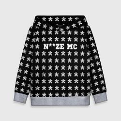 Толстовка-худи детская Noize MC цвета 3D-меланж — фото 1