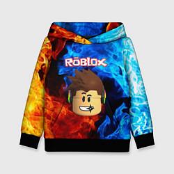 Толстовка-худи детская ROBLOX цвета 3D-черный — фото 1