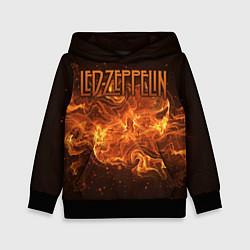 Толстовка-худи детская Led Zeppelin цвета 3D-черный — фото 1
