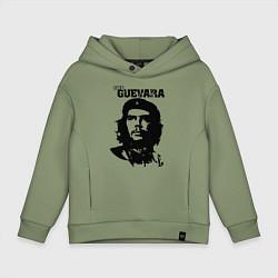 Толстовка оверсайз детская Che Guevara цвета авокадо — фото 1