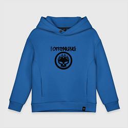 Толстовка оверсайз детская The Offspring цвета синий — фото 1