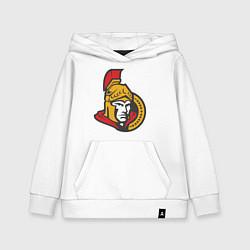 Толстовка детская хлопковая Ottawa Senators цвета белый — фото 1