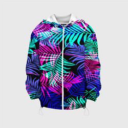Детская 3D-куртка с капюшоном с принтом Hawaii ?, цвет: 3D-белый, артикул: 10106444005458 — фото 1