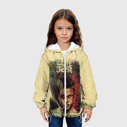 Детская 3D-куртка с капюшоном с принтом This is your life, цвет: 3D-белый, артикул: 10108639705458 — фото 2