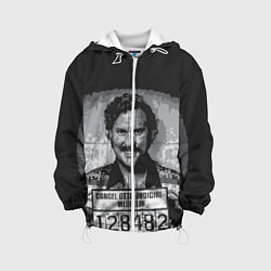 Куртка с капюшоном детская Pablo Escobar: Smile цвета 3D-белый — фото 1