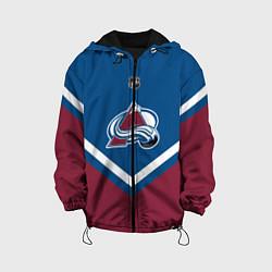 Куртка с капюшоном детская NHL: Colorado Avalanche цвета 3D-черный — фото 1