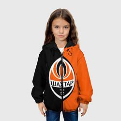 Куртка с капюшоном детская ФК Шахтер Донецк цвета 3D-черный — фото 2