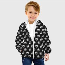 Куртка с капюшоном детская Versus Battle цвета 3D-белый — фото 2