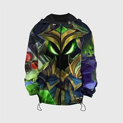 Детская 3D-куртка с капюшоном с принтом Вейгар, цвет: 3D-черный, артикул: 10117602805458 — фото 1