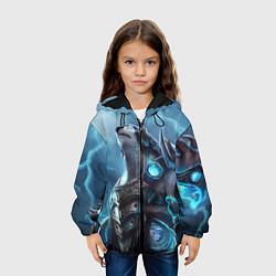 Детская 3D-куртка с капюшоном с принтом Вербер, цвет: 3D-черный, артикул: 10117701805458 — фото 2