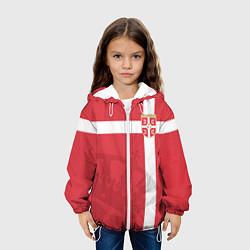 Куртка с капюшоном детская Сборная Сербии цвета 3D-белый — фото 2