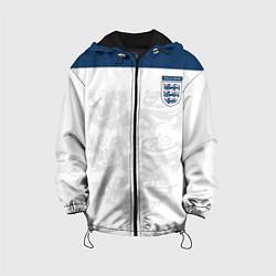 Куртка с капюшоном детская Сборная Англии цвета 3D-черный — фото 1