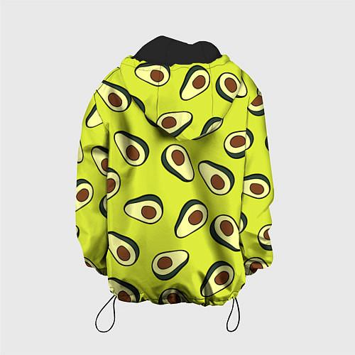 Детская куртка Стиль авокадо / 3D-Черный – фото 2