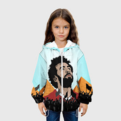 Куртка 3D с капюшоном для ребенка Salah: Egypt King - фото 2